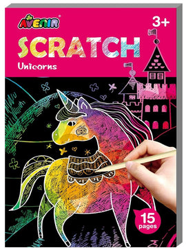 Avenir - Small Scratch Cards - Unicorns (15pk)