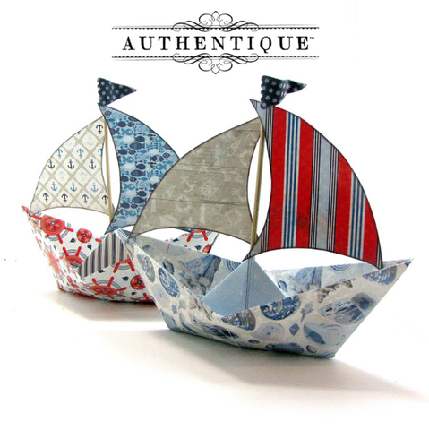 "Authentique - Seafarer - 6x6 ""Three"""
