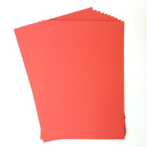Artfull Cardstock - A5 Card Pack - Red (10 sheets)