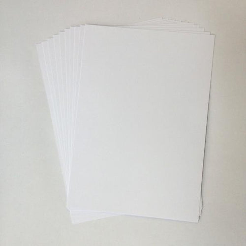 Artfull Cardstock - A5 Card Pack - White (10 sheets)