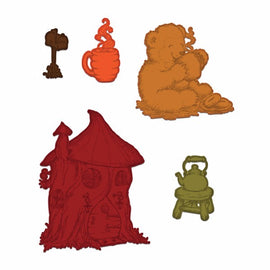 Heartfelt Creations - Beary Fun Retreat - Happy Time Treehouse - Die Set