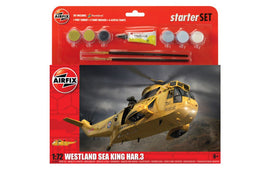 Airfix - Large Starter Set - Westland Sea King Har.3 1:72 (Skill Level 3)