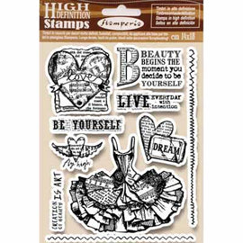 Stamperia - HD Natural Rubber Stamp - Fly High