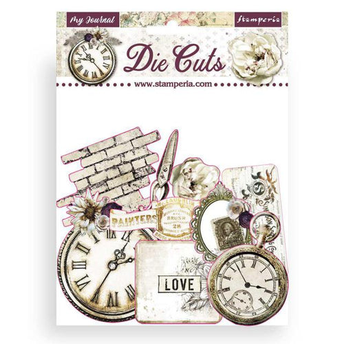 "**Pre-Order** Stamperia - Romantic Collection ""Journal "" - Die Cuts"