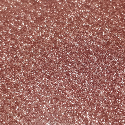 Siser Heat Transfer Vinyl - Moda Glitter 2 - Rose Gold (A3 Sheet)