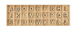 Kaisercraft - Lucky Dip Wooden Shapes - Alphabet Set