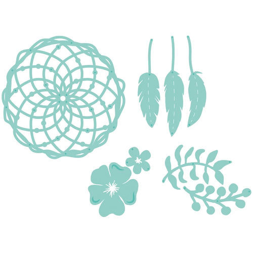 Kaisercraft - Decorative Die - Floral Dream Catcher