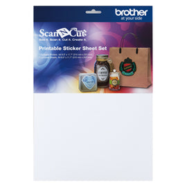 **Request Item** - Brother ScanNCut Print Sticker Sheet Set A4 Size