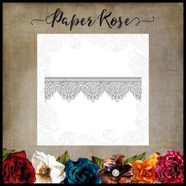 Paper Rose - Madison Lace Edge Die