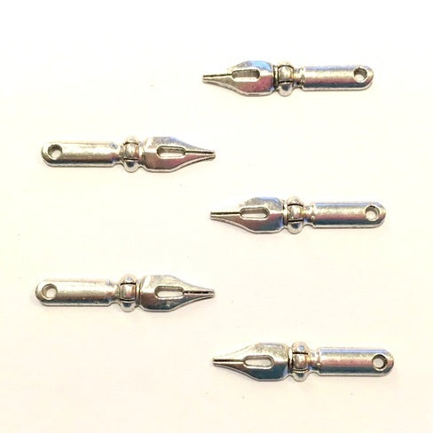 Artfull Embellies - Fountain Pen Nibs - Silver