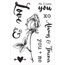 Kaisercraft - Always & Forever - Clear Stamps