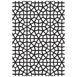 Kaisercraft - 4x6 Embossing Folder - Mosaic
