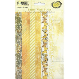 49 and Market - Vintage Artistry Butter - Washi Tape Strips