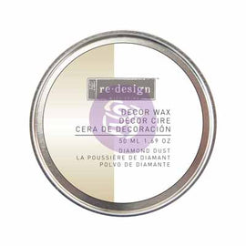 Prima Marketing - Re-Design Wax Paste - Diamond Dust (White Gold) 50ml