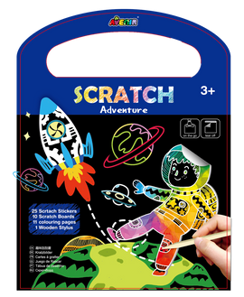 Avenir - Scratch 3 in 1 Play - Adventure