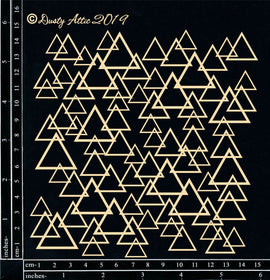 "Dusty Attic - ""Triangle Panel Small"""