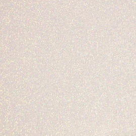 Siser Heat Transfer Vinyl - Moda Glitter 2 - Rainbow White (A3 Sheet)