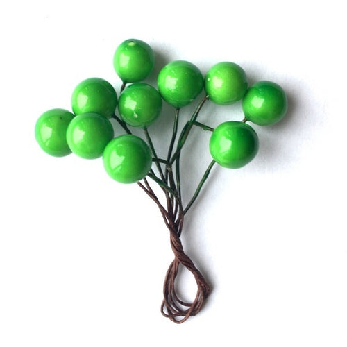 Artfull Berries - Bright Green