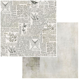 "49 and Market - Vintage Artistry Essentials - 12x12 Paper ""Connotation"""
