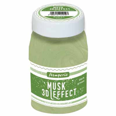 Stamperia - Mix Media Pastes - 3D Musk Effect 100ml - Light Green