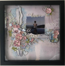 "Embellish It - 12x12"" Shadow Box Frame - Black"