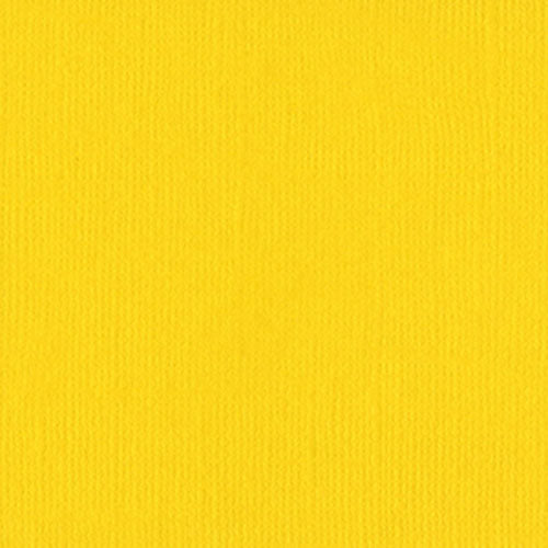 Bazzill Mono - 12x12 - Yellow
