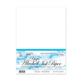 Couture Creations - Yupo Alcohol Ink Paper - White A4 (10pk)