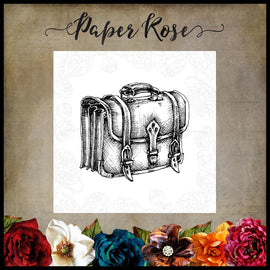Paper Rose - Old Messenger Bag Stamp