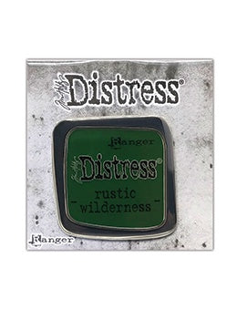Tim Holtz Distress Enamel Collector Pin - Rustic Wilderness