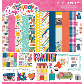 Photo Play - Wicker Lane - 12x12  Collection Pack