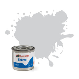 Humbrol - 14ml Enamel Paint - Silver Fox Metallic