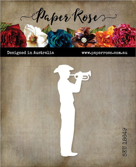 Paper Rose - Soldier with Bugle
