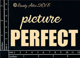 "Dusty Attic - ""Words - Picture Perfect #2"""