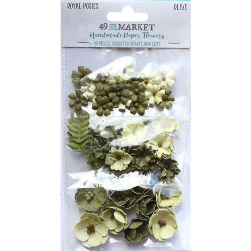 **Pre-Order** 49 and Market - Flowers - Royal Posies - Olive