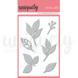 Uniquely Creative - Roots & Wings - Mixed Leaves Die Set