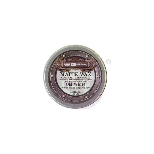 Prima Marketing - Finnabair Art Alchemy - Matte Wax - Old White