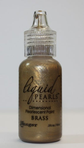 Ranger Liquid Pearls - Brass