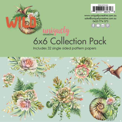 Uniquely Creative - Wild - 6x6 Collection Pack