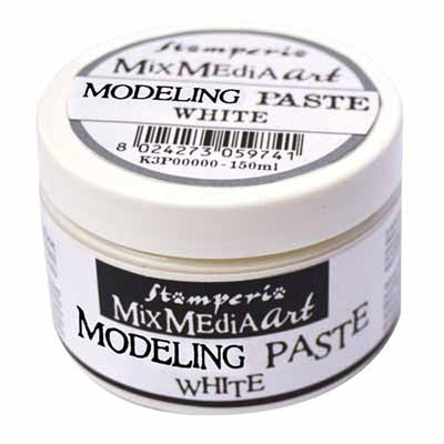 Stamperia - Mix Media Art - Modeling Paste White