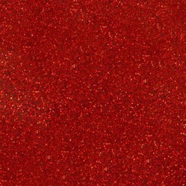 Siser Heat Transfer Vinyl - Moda Glitter 2 - Red (A3 Sheet)