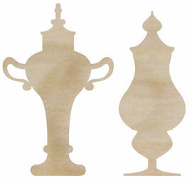 Kaisercraft - Wooden Flourishes - Decorative Bottles