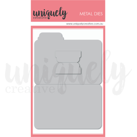 Uniquely Creative - Dreamer & Wild - File Folder Die