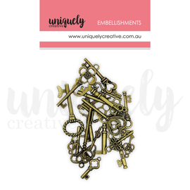 Uniquely Creative - Roots & Wings - Mixed Metal Keys