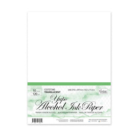 Couture Creations - Yupo Alcohol Ink Paper - Translucent A4 (10pk)