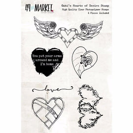 Gabrielle Pollacco - Hearts of Desire Stamp Set