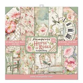 Stamperia - 12x12 Paper Pack - House of Roses