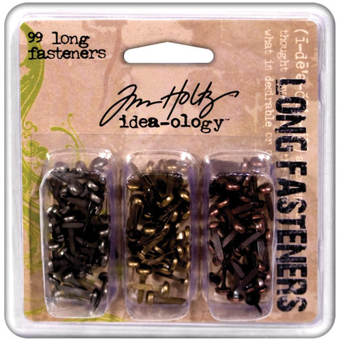 Tim Holtz Idea-ology - Long Fasteners (Brads)