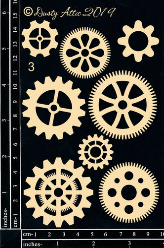 "Dusty Attic - ""Cogs #3"""