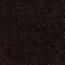 Siser Heat Transfer Vinyl - Moda Glitter 2 - Black (A3 Sheet)