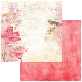 "**Pre-Order** 49 and Market - Vintage Artistry Blush - 12x12 Paper ""Poised"" (eta end Jan 21)"